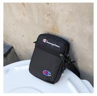Wholesale wallet belt china for sale - Champion One shoulder Unisex Fashion Mini Crossbody Bag Single Shoulder Bag Travel Shopping Belt Packs Phone Wallets Hot B383