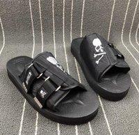sandálias esporte ao ar livre venda por atacado-Mastermind JAPAN x SUICOKE Sandálias de exterior para homem, senhora, formadores de streetwear, Formadores, calçado desportivo de marca, jogging de ginástica a pé