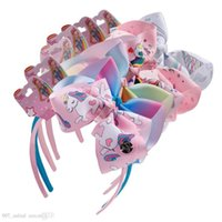 Wholesale children s party supplies for sale - Group buy Hot Jojo With Card Head Buckle Headband Kids Girls Children S Unicorn Bow Hair Accessories Headwear Party Supplies Hair Sticks