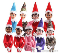 Wholesale fast toys resale online - 2020 Styles Christmas Elf Doll Plush toys Elves Santa dolls Clothes on the shelf For Christmas Gift Fast Shipping