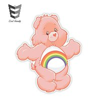 Wholesale car wall graphics for sale - Group buy Car Stickers Care Bears Cheer Decal Funny Car Styling Vinyl Graphic for Car Window Trunk Wall Decor cm X cm