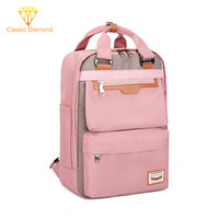 Wholesale campus pack for sale - Group buy 2019 New Waterproof Nylon backpack travel back pack Campus Middle Junior School Student Backpacks For Girls Schoolbag Women Bag