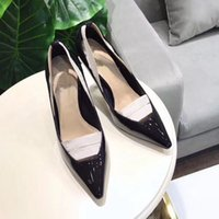 Wholesale ladies beautiful pumps resale online - Beautiful Lady Dress Shoes Rhinestone Design Women Pointed Toe Thin High Heels Satin Sexy Party Festival Wedding Shoes Women Pumps size35