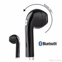 doogee mini toptan satış-I8 Mini Bluetooth Küpeler Dönebilen Spor Şarj Kulaklık Bluetooth Kulaklık Kablosuz Stereo Iphone 9 8 x MI MIX Doogee Xiaomi