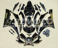 yamaha yzf r6 gewohnheit großhandel-OEM Quality New ABS Vollverkleidung Kits fit für YAMAHA YZF-R6 06-07 YZF600 2006 2007 R6 Karosseriesatz Custom Black