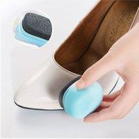 zapatos rapidos al por mayor-Brillo de los zapatos Inicio Quick Shine Esponja Cepillo polaco limpiador del polvo de limpieza de calzado cuidado de la herramienta Para Ourwh1381