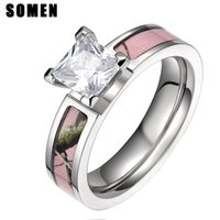 Wholesale Pink Camo Wedding Rings Buy Cheap Pink Camo