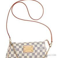 Wholesale free knit crochet patterns resale online - Hot newest fashion designer PU leather cross pattern handbag chain shell bag shoulder bag Messenger bag