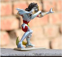 figuras do pvc de saint seiya venda por atacado-Ação Grandes Brinquedos PTC Saint Seiya Pano Mito Ex Hyoga Cygnus V3 One Piece Anime Figura de Ação Dos Desenhos Animados