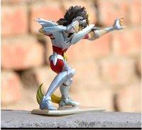 saint seiya pvc figuren großhandel-Aktion Tolles Spielzeug PTC Saint Seiya Stoff Mythos Ex Hyoga Cygnus V3 One Piece Anime Cartoon Action Figure