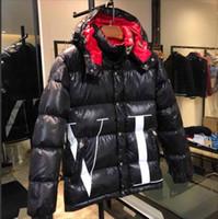 erkekler için kuş tüyü toptan satış-Erkekler Rahat Aşağı Ceket Aşağı Palto Erkek Açık Sıcak Tüy Kış Coat dış giyim ceketler erkek kış giyim