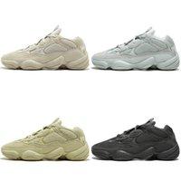 Wholesale red fashion shoes for men resale online - Kanye West Desert Rat Blush s Salt Super Moon Yellow M Utility Black mens running shoes for men women Fashion sports sneakers US5