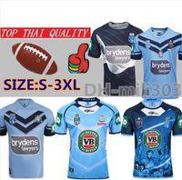 pro jersey s venda por atacado-2019 NSW BLUES CASA PRO JERSEY NSW ESTADO DE ORIGEM Rugby Jerseys 19 20 TREINAMENTO SINGLET NSW SOO 2018 RUGBY JERSEY Tailândia Qualidade