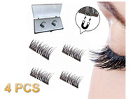 Wholesale magnetic machine for sale - Group buy Clearance Sale Stock in USA D Magnetic False Fake Eyelashes Eye Makeup Accessories Magnet Long Thick Eye Lashes Natural Mink Soft