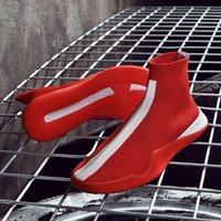 ingrosso moda coreana maschile hip hop-19 anni più esplosivi calzino stretch scarpe maschili scarpe hip-hop coreano moda casual maglieria scarpe estate personalità casual di lusso clo