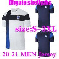 Wholesale size S XL best quality Finland soccer jersey men home white PUKKI KEMPPI ENGMAN Jersey HRADECKY football uniform shirts