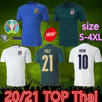 Wholesale blue jersey black shorts soccer for sale - Group buy 2020 italy away third soccer jersey xl italia jersey maglie da calcio Verratti Jorginho Romagnoli Immobile Bonucci football shirts