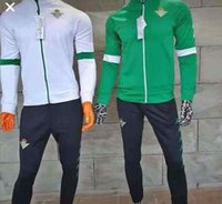 Wholesale 2020 Valencia Sevilla Soccer Training Suit GAYA Betis PAREJO survetement football tracksuit Morocco jogging chandal futbol