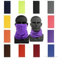 US Stock Multifunctional Magic Tube Scarf Bandana Head Scarf Cover Mask Neck Gaiter Headwear Beanie Unisex Austproof Sports Wear FY7026