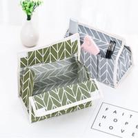 patrones de caja de tela al por mayor-Tejido Art Tissues Case Desktop Magic Poster Tissue Box Organizador Servilletero Universal Nuevo patrón Venta caliente 5ws J1
