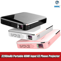Wholesale projectors for android phones for sale - Group buy MINI X3 Pocket DLP projector Android for iPhone Screen Mirroring Multimedia system Video D HDMI Beamer Portable for P Home Cinema