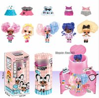 Wholesale capsule toys resale online - Hairgoals Capsule Makeover Series Hairgoals DIY Doll Toys Kids Best Gifts Colorful Figures Ball Toys
