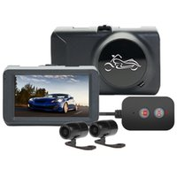 Wholesale car splits resale online - Motorcycle Driving Recorder Inches Split Screen Visible High Definition Waterproof Front Rear Dual Lens Locomotive Recorder car dvr