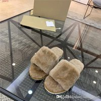 Wholesale mens white moccasins for sale - Group buy Latest Mens classic plush slippers Warm and comfortable at home and outside the appropriate plush drag a flat slippers with box