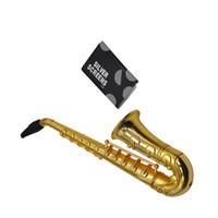 mini saxofone venda por atacado-Cachimbos de 5 polegadas Mini Saxofone Estilos Acessórios para Fumar Ultimate Pipe Mini Tubo de Cigarro De Metal De Alumínio Fumar Tubo de Tabaco