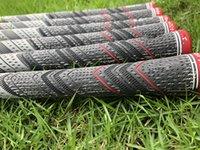 demir grisi toptan satış-2018 Yeni golf sapları gri ütüler sürücü renkleri için gri renk kauçuklar / orta ölçekli golf kulüpleri sapları DHL gemi