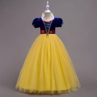 Wholesale fancy ankle length dresses for sale - Group buy 2019 Children Christmas Girl Snow White Dress for Girls Prom Princess Dress Kids Baby Gifts Intant Party Clothes Fancy Teenager Clothing