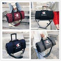sacs utilitaires achat en gros de-Champions Imprimer Utility Duffel Bag Marque Sacs de voyage Unisexe Sports Gym Yoga Bagage à main Grande Capacité Sacs à bandoulière imperméable Tote Bags