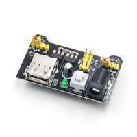câmera mb venda por atacado-Módulo de Potência Dedicado Mb-102 Módulo de Potência Dupla 5V3.3 V Módulo Regulador de Tensão de Saída Dc
