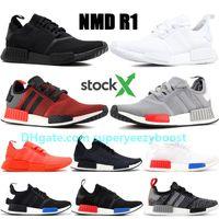 Großhandel 2019 Adidas NMD Human Race Neue NMD Runner R1 Primeknit Triple Schwarz White Bee Nmds Designer Laufschuhe Für Männer Frauen OREO NMDS