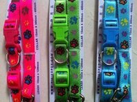 Wholesale ribbon collars dogs for sale - Group buy Dog Pull Bring Tow Bring And Cartoon Bring Printing Collar Suit Ribbon Gou Sheng