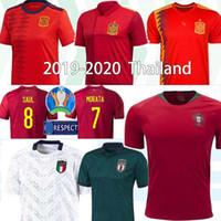 camisetas de futebol para equipes venda por atacado-Portugals equipe nacional jersey retro soccer Itália Copa do Mundo da África do Sul Espanha jersey RONALDO Nani homens retro camisas de futebol