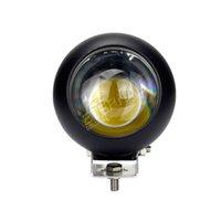 için 4x4 utv toptan satış-2 adet 4 inç 25 W led sis lambası İş işık offroad için yüksek güç sürüş far 4x4 Wrangler UTV Raptor gündüz çalışan ışık
