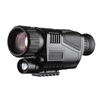 gece görüşü infrared monoküler toptan satış-5x40 Kızılötesi Gece Görüş Teleskop Taktik NV540 Monoküler HD Dijital Görüş Optik 200 M Aralığı Güçlü Teleskop ücretsiz kargo