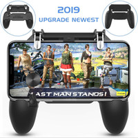 Wholesale force feedback for sale - 2019 Hot Selling Mobile Wireless W11 Plus Gamepad Remote Controller Joystick for PUBG for iPhone Android