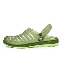 ingrosso flip flop blocca gli uomini-Zoccoli uomo Zoccoli Eva Beach Scarpe da giardino Pantofole Calzatura da uomo Zoccolo esterno Pantofole moda alla moda Pantofole casual