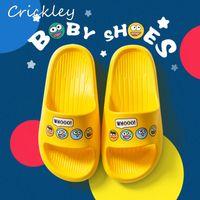 Wholesale shoes for children cartoon for sale - Group buy Summer Bathroom Kids Slippers Cartoon Pattern Solid EVA Slippers for Boys Girls Indoor Floor Soft Non Slip Children Beach Shoes