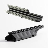 trilhos de metal venda por atacado-Montagem do Escopo Sa58 Picatinny Rail Perfil Baixo de Alumínio para FN FAL Série Mnt-981 M8593 Completa de Metal CNC Feito