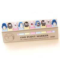 pegatinas de marcadores al por mayor-Oficina de escritura Divertido Joy Cat Style Sticker Post It Bookmark Memo Marker Point Flags Sticky Notes etiqueta Decoración Etiqueta de la pared