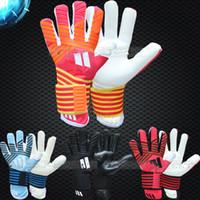Wholesale supplier ACE Goalkeeper Gloves Latex Soccer Goalie Luvas Guantes professional