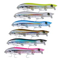 Wholesale fishing lures plastic bass for sale - Group buy New Arrival Plastic Popper Fishing Lures Bass CrankBaits Hooks Tackle New mm g Hooks