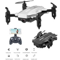 Wholesale 1pcs Mini Drone P P HD Aerial Gesture Photographing Four Axis Aerial Camera Remote Control Folding Fixed Height Aircraft M9