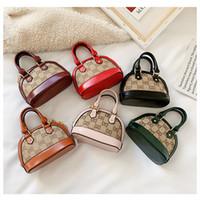 Wholesale korean children purses for sale - Group buy Fashion Kids Handbags Newest Korean Girls Mini Princess Purses Classic Chain Shell Style Shoulder Bags Children Coin Bags
