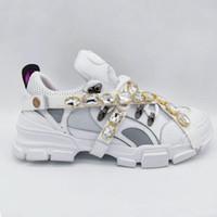escalada al aire libre zapatos de senderismo al por mayor-Lujo Flashtrek Sneaker con cristales extraíbles para hombre montañismo zapatos casuales para mujer senderismo zapatos al aire libre venta caliente