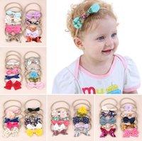 fitas de maternidade venda por atacado-Multi color baby girl designer headband Flores Bolinhas Design Hairbands Meninas Arcos de cabelo bebê Maternidade Acessórios Para o Cabelo