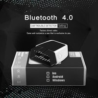 Wholesale bluetooth diagnostic repair tool resale online - Dragonpad ELM327 V2 Car OBD2 Car Bluetooth Diagnostic Scanner with K80 Chip for IOS Android Repair Tools